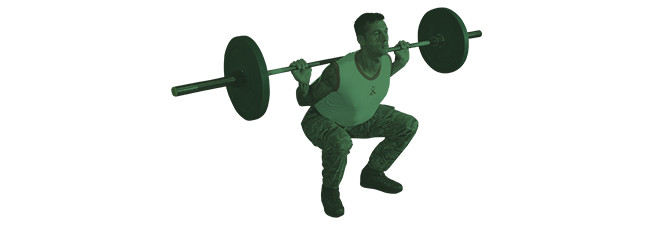 get fit to join royal marines back squat step two