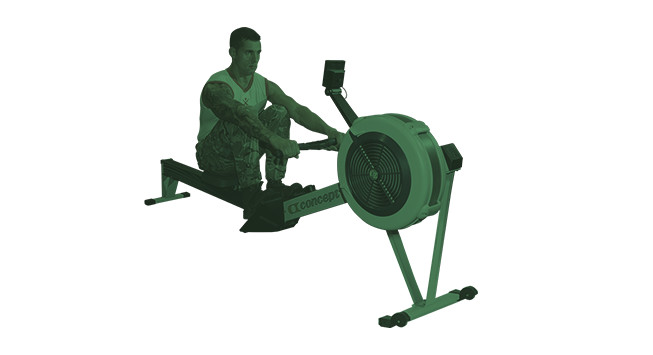 get fit to join royal marines rowing step one
