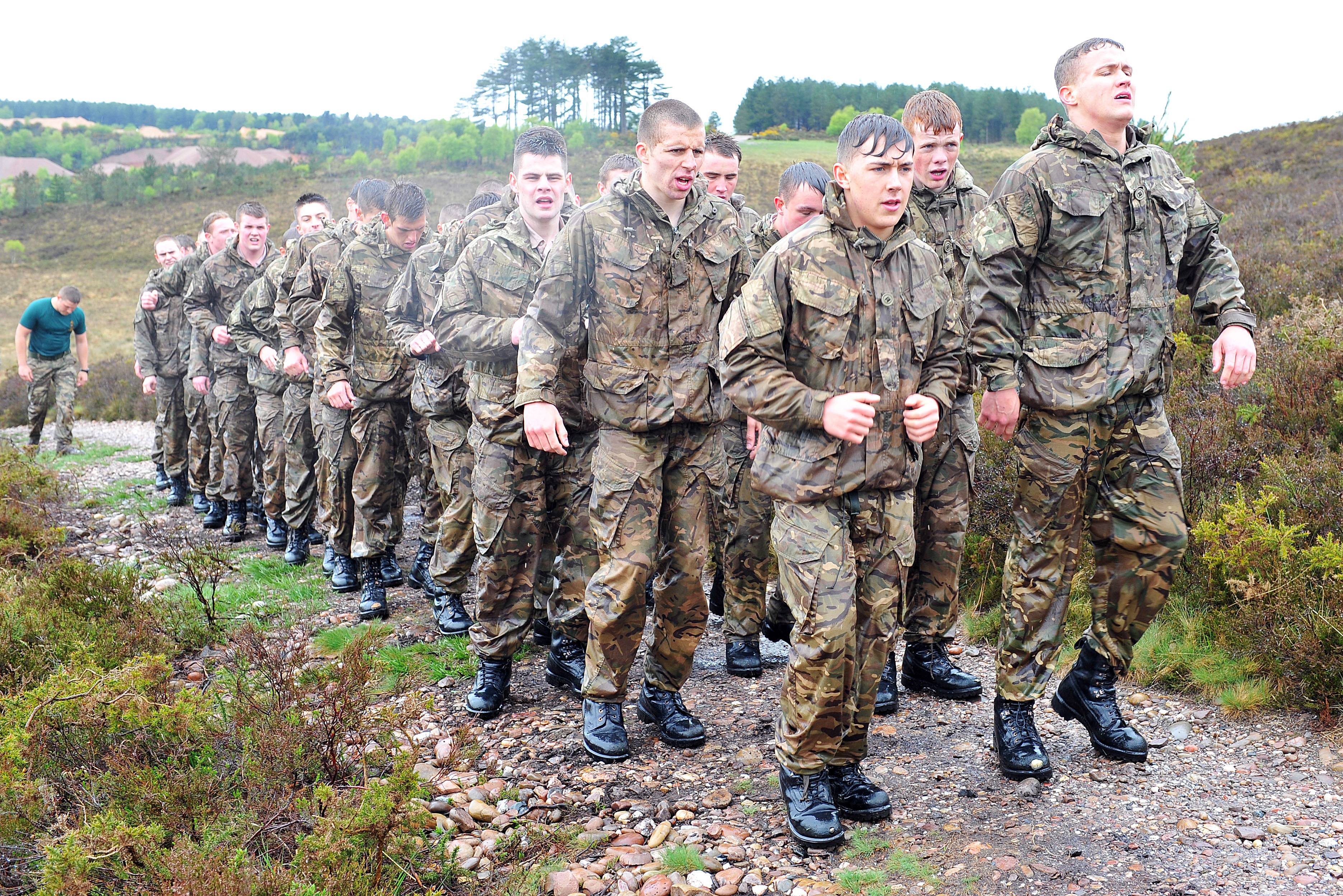 Stage 2 Fitness Test | Potential Royal Marines Course (PRMC)