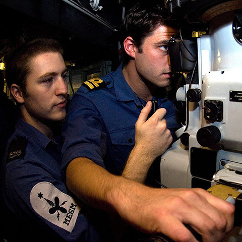 Marine Engineer Officer Submariner in the Royal Navy