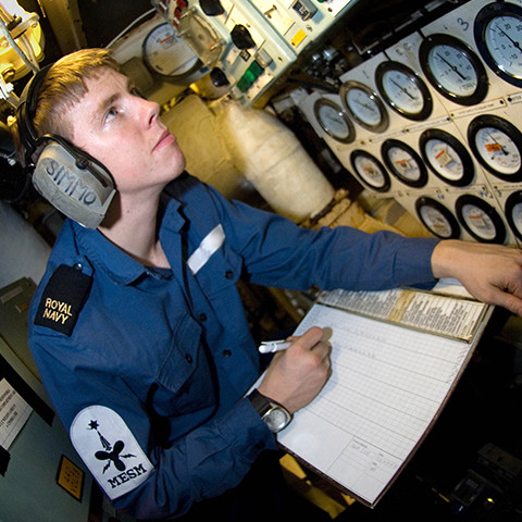 Undergraduate Apprentice Scheme Marine Engineering Submariner