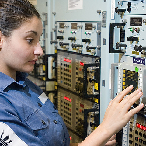 Royal Navy Communications Technician