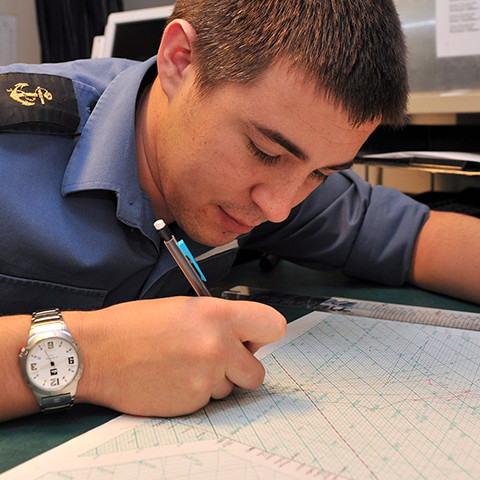 Royal Navy Hydrography and Meterology Specialist