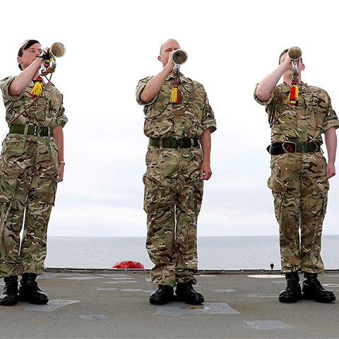 Royal Marine Bugler