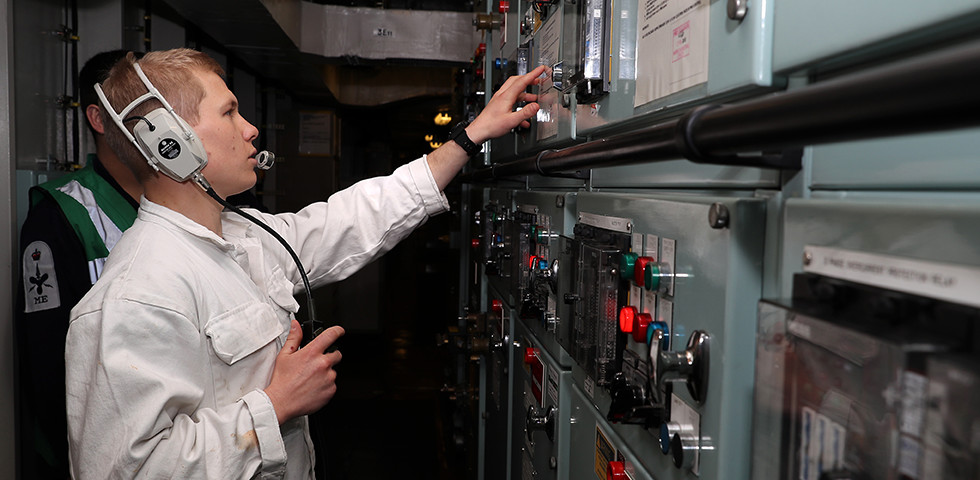 From day one you'll be making a crucial contribution to protecting our nation's interests. Royal Fleet Auxiliary Systems Engineer Officer