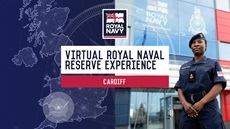 HMS Cambria virtual experience event