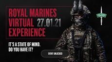 Royal Marines virtual experience