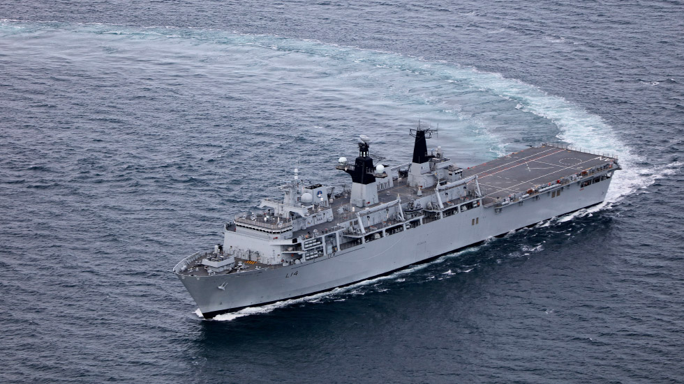 Hms Albion L14 Royal Navy
