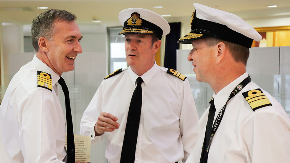 First Sea Lord, Second Sea Lord and Fleet Commander