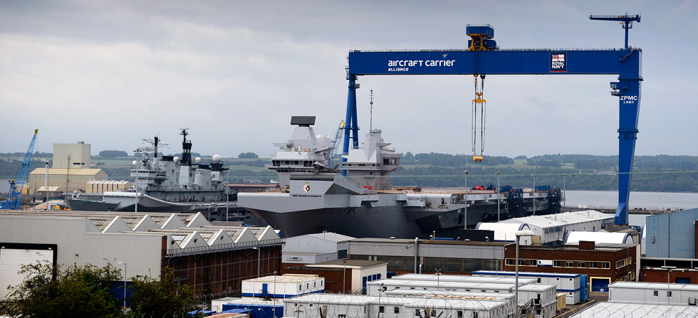New carrier named by The Queen