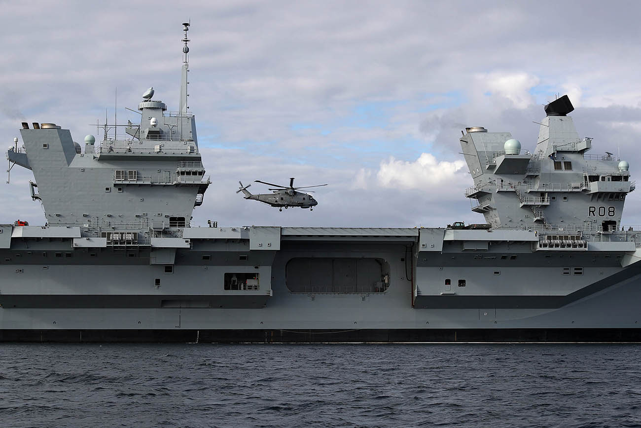 Royal Navy marks centenary of carrier aviation