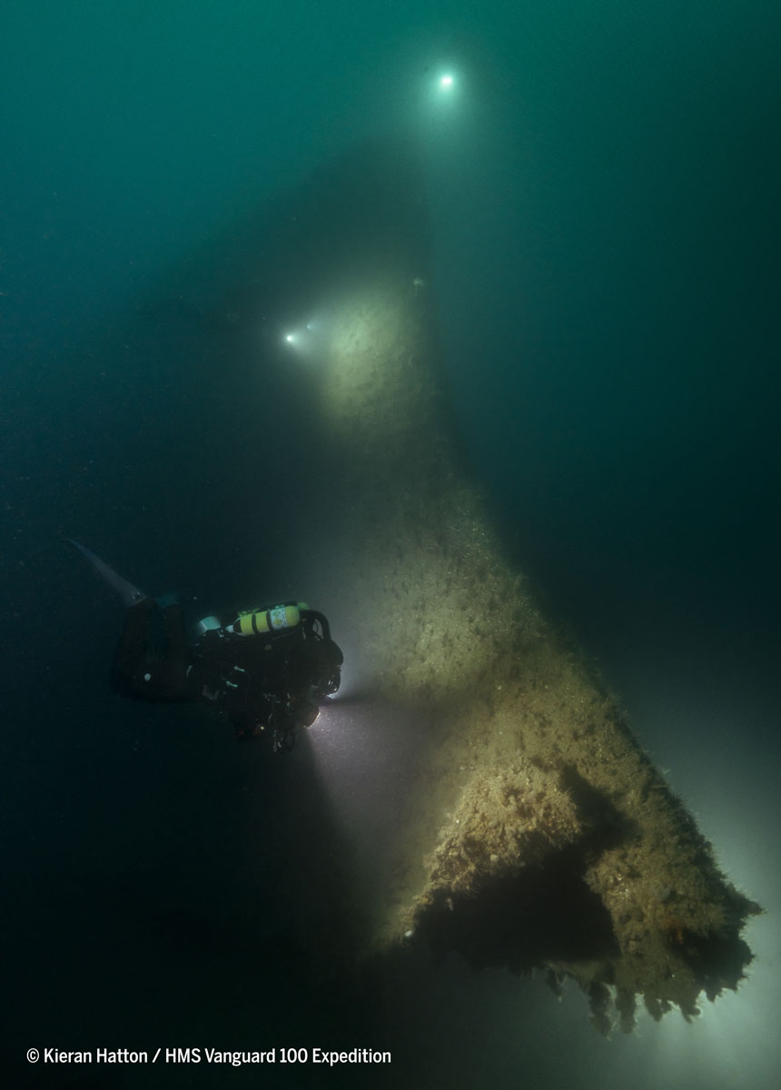 Centenary of HMS Vanguard tragedy