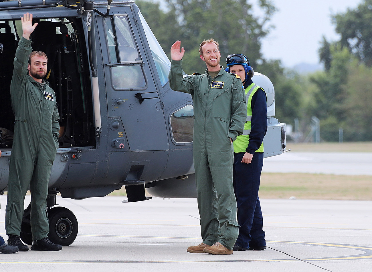 Wildcat helicopter returns to Yeovilton after groundbreaking deployment