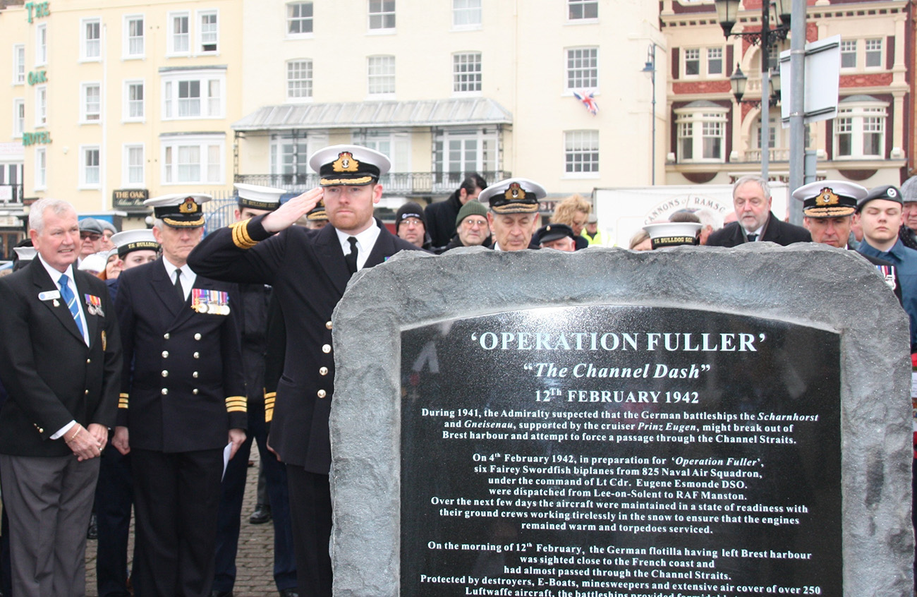 Heroic Channel Dash aircrew remembered after 75 years