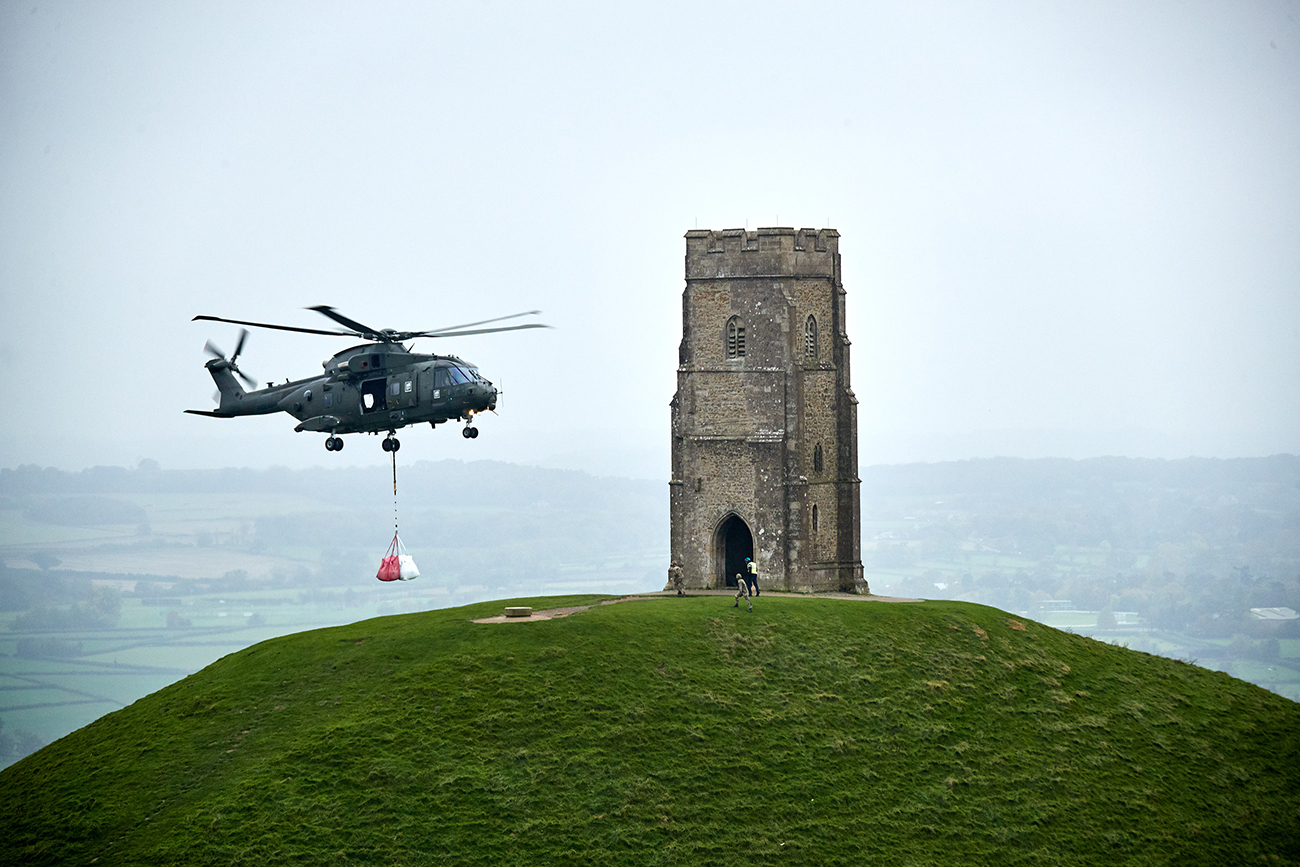 Tor of duty as Merlin helps iconic Somerset site