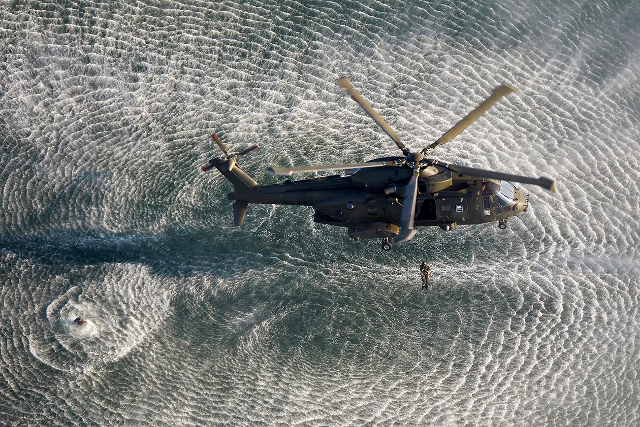 Merlin fliers earn their wings with week-long Devon exercise