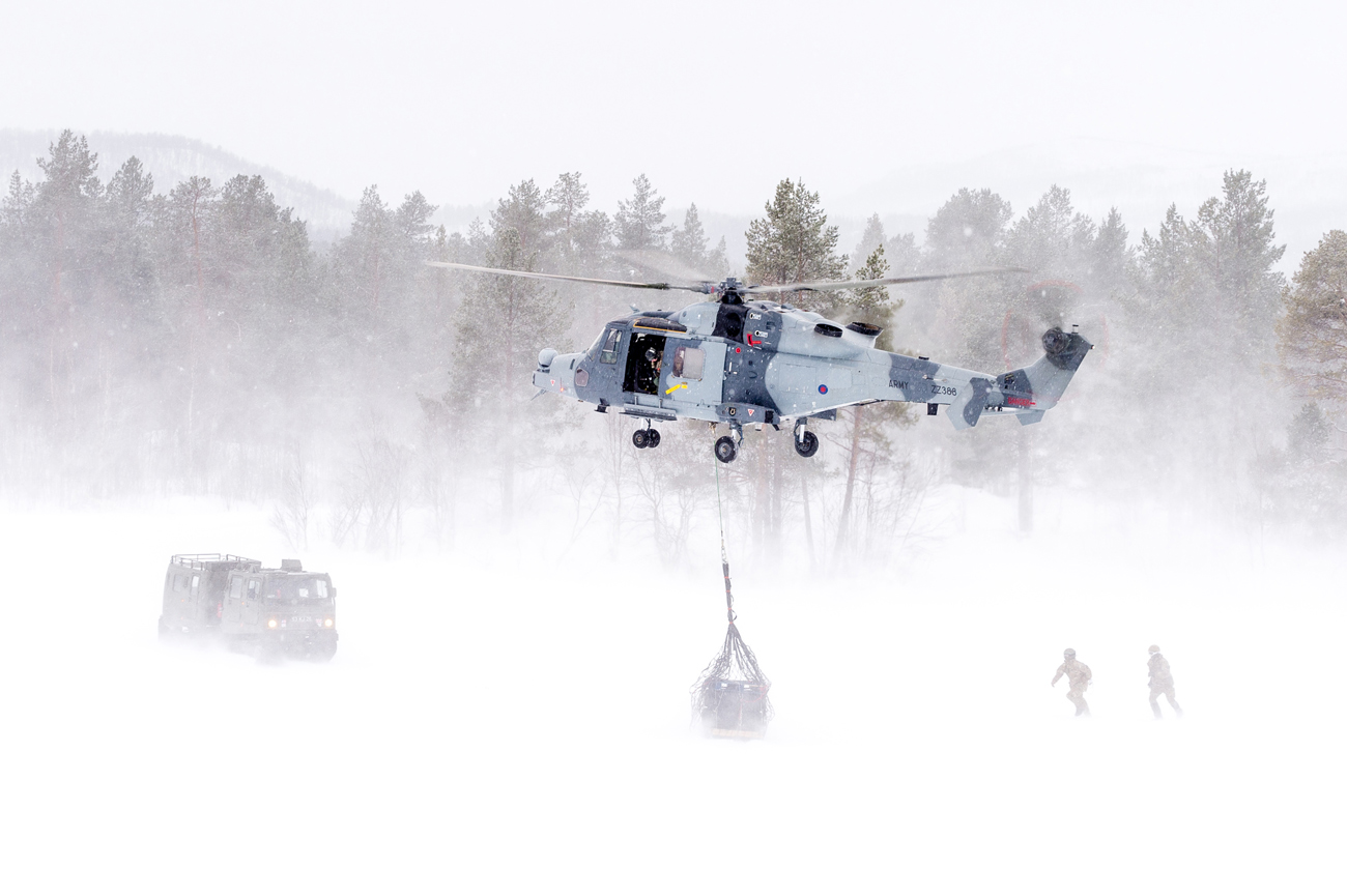 Wildcat helicopter is tested for first time in Norway