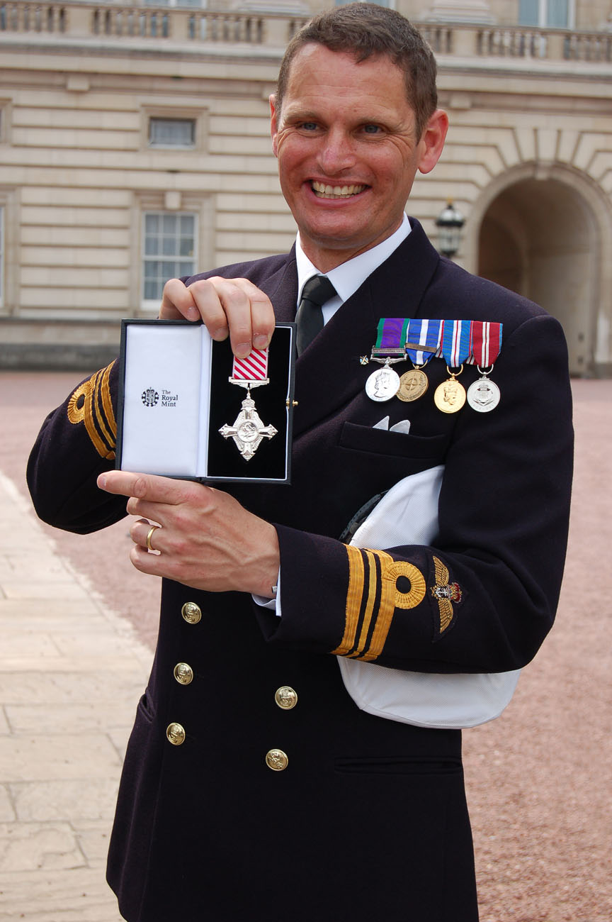 air force cross presented by prince charles