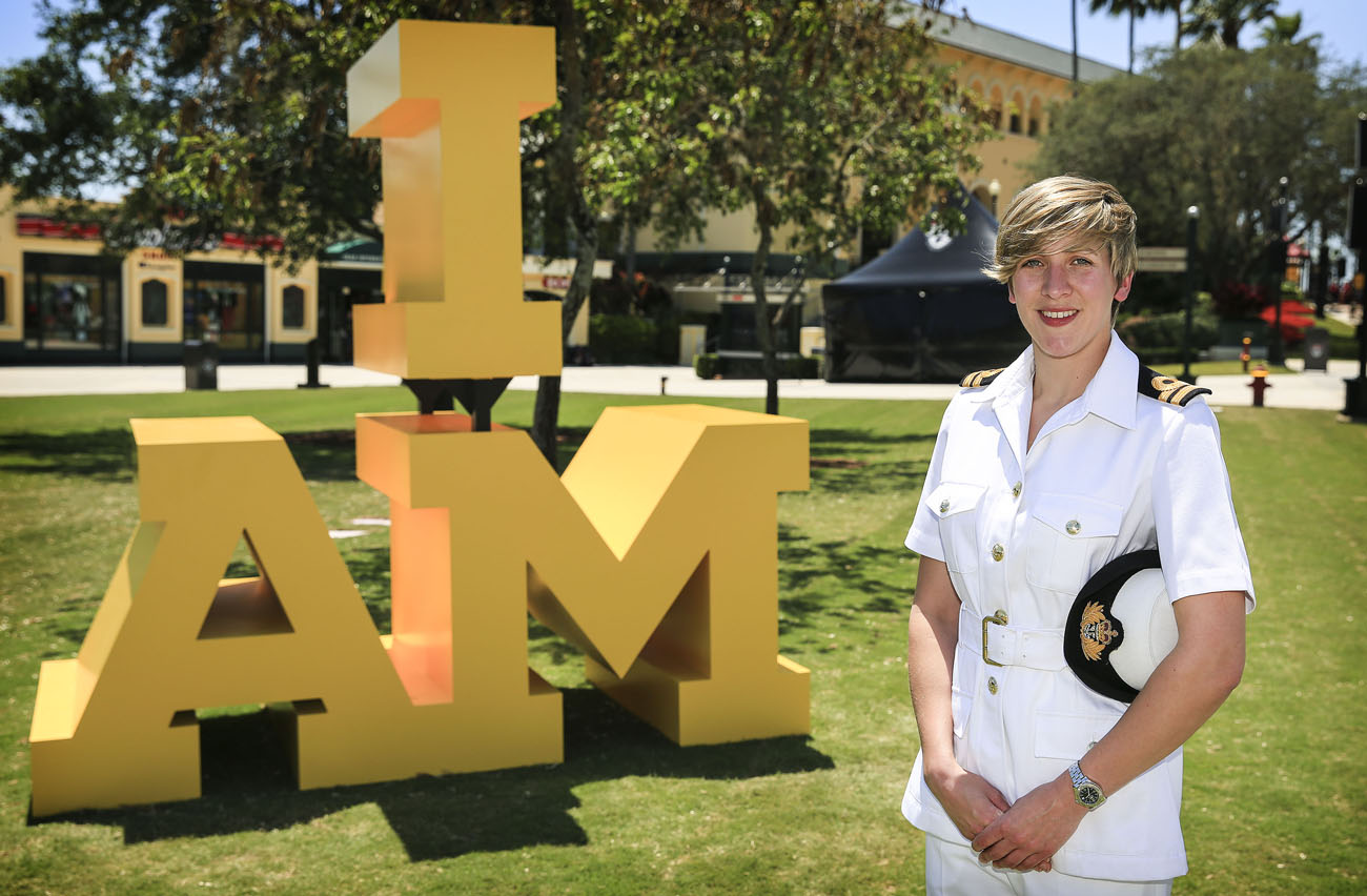 Navy takes front row in Gareth Malone's Invictus Choir