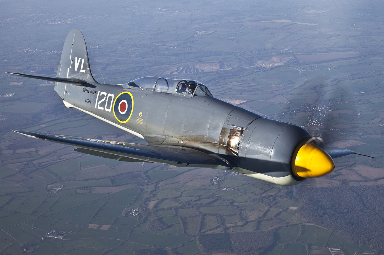 Sea Fury to resume displays this summer