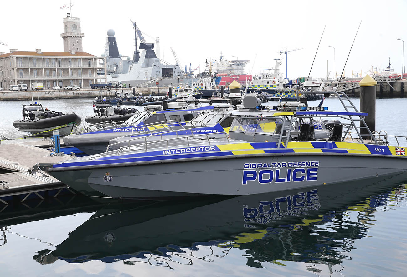 New boats for Gibraltar Defence Police