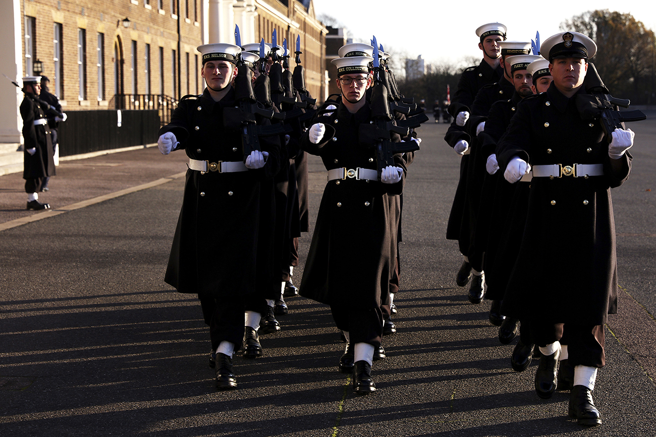 Royal Navy declared ready to mount historic first public duties
