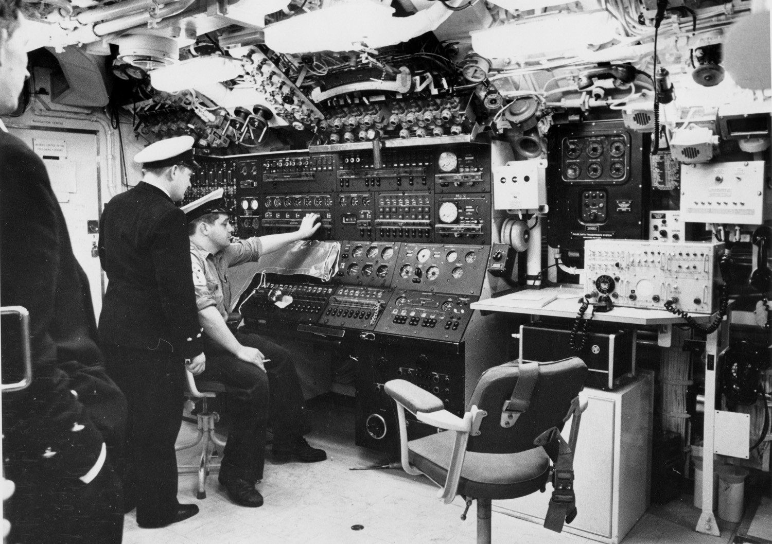 HMS Resolution's Control Room