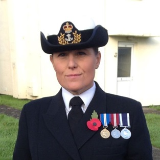 Warrant Officer 1st Class (Physical Trainer) Natasha Pulley