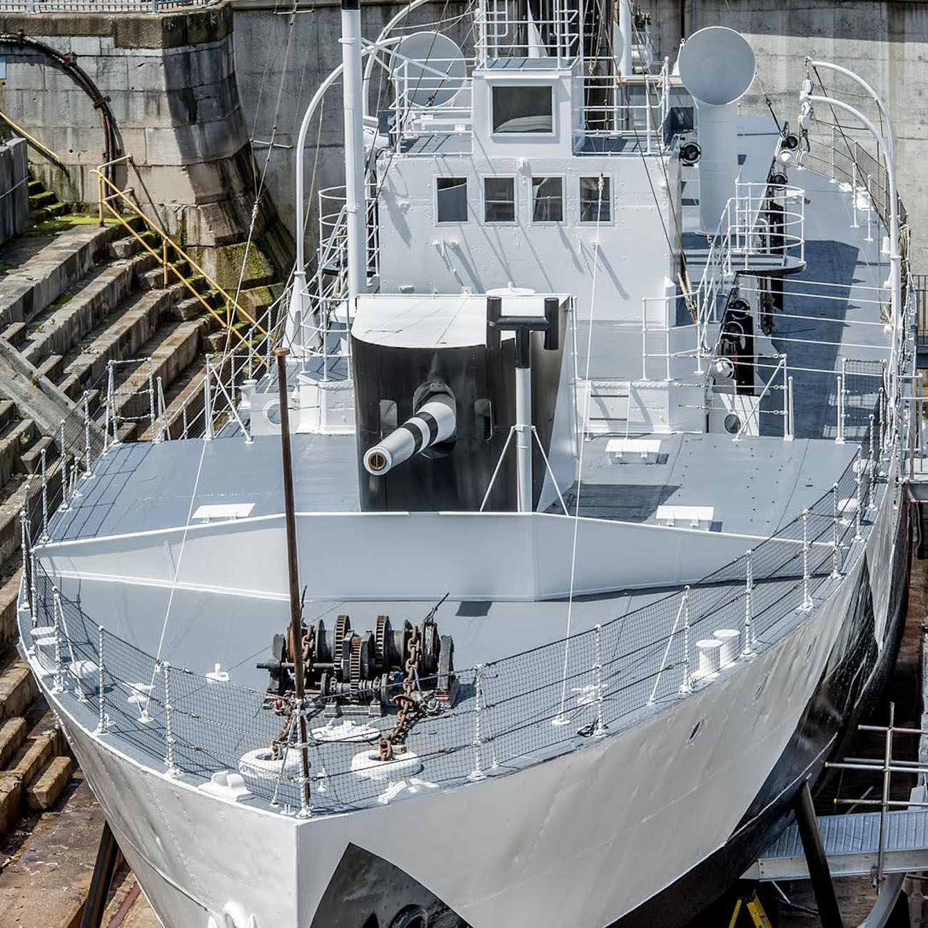 Gallipoli warship opens after £2.4m project