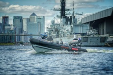 Pac24 boat during DSEI last year. Picture: BAE Systems
