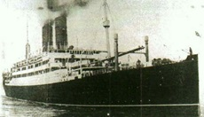 The US troop ship SS Tuscania