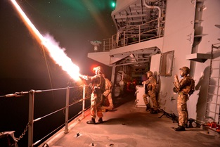 Royal Navy sharpens claws for Exercise Omani Cougar