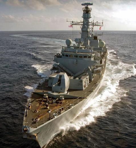 HMS Somerset ready for Joint Warrior