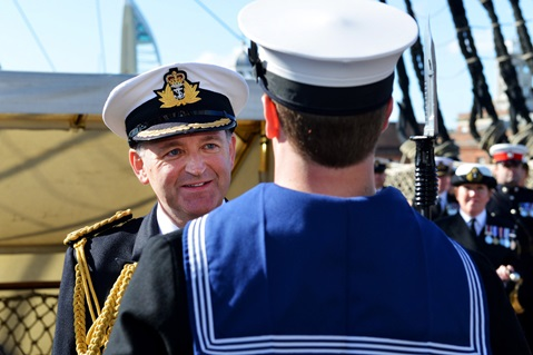 Royal Navy appoints a new Commander of the Maritime Reserves