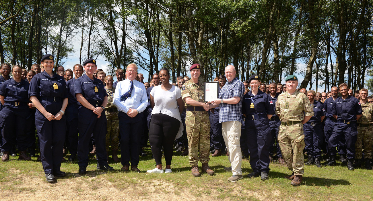Reservists join Employers to Celebrate Reserves Day