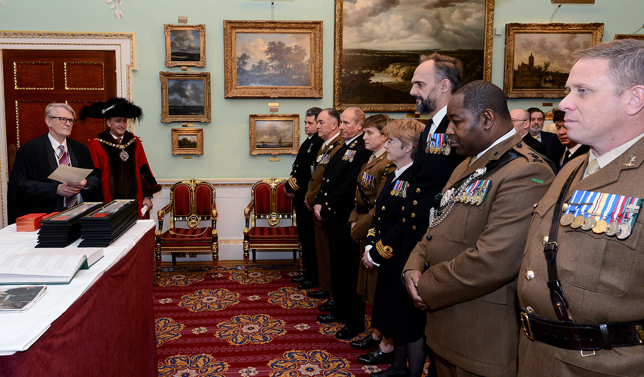 Freedom of the City of London granted to Naval Reservists