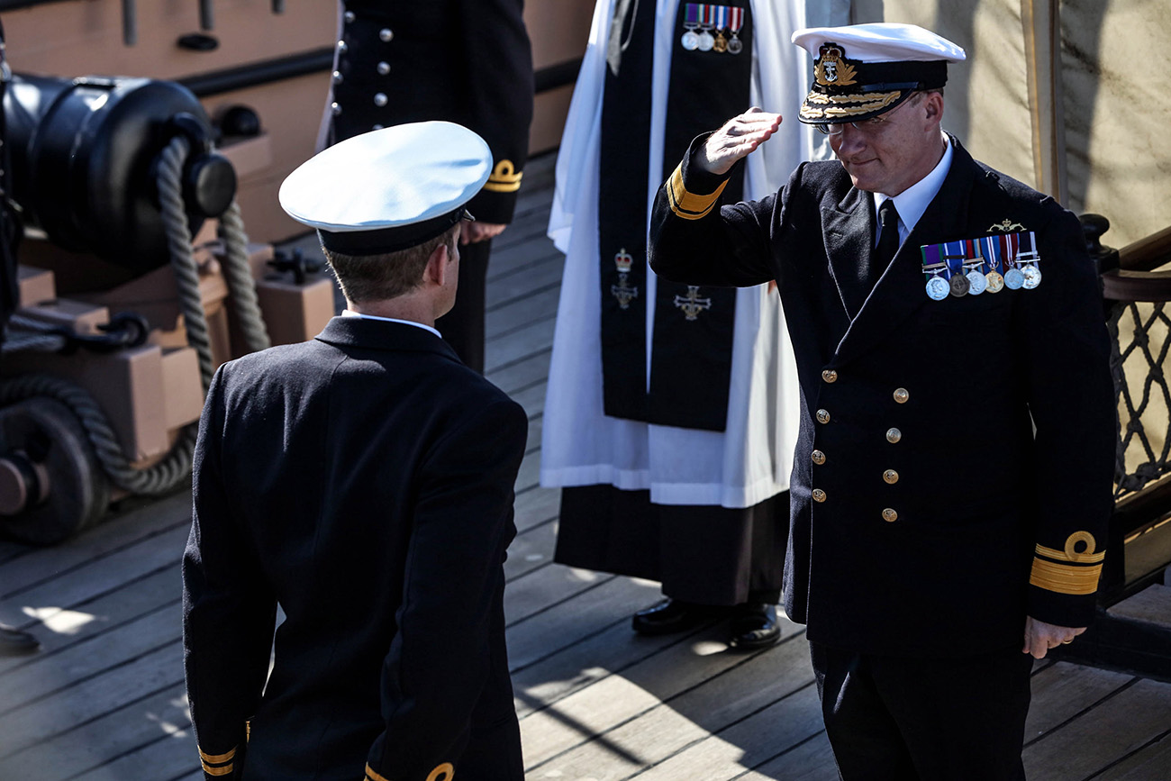 New head of the Maritime Reserve takes charge