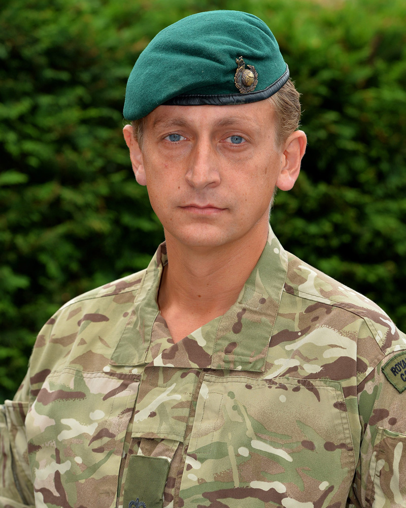 Royal Marine Reservist recognised for outstanding work in Sierra Leone | Royal Marines