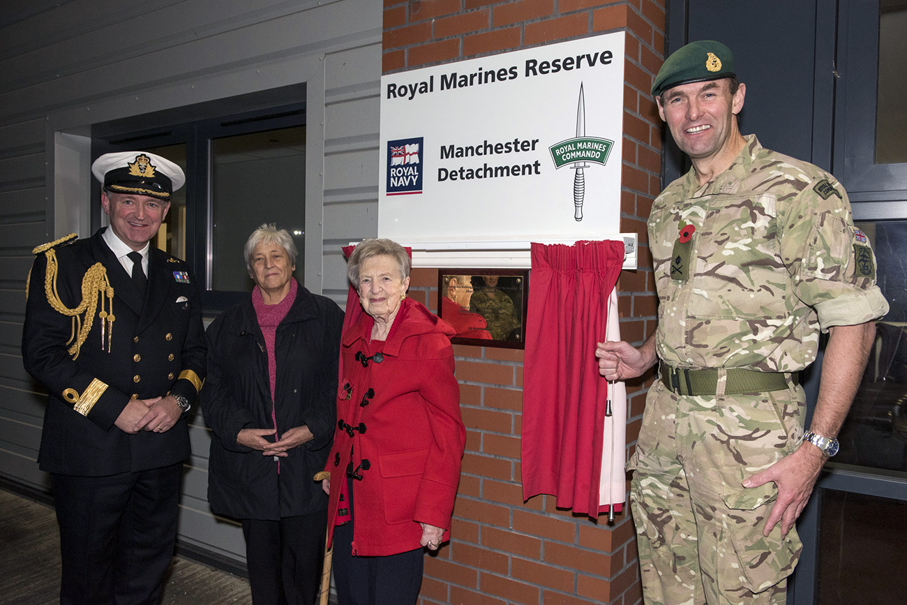 New Royal Marines Reserve base named after local hero