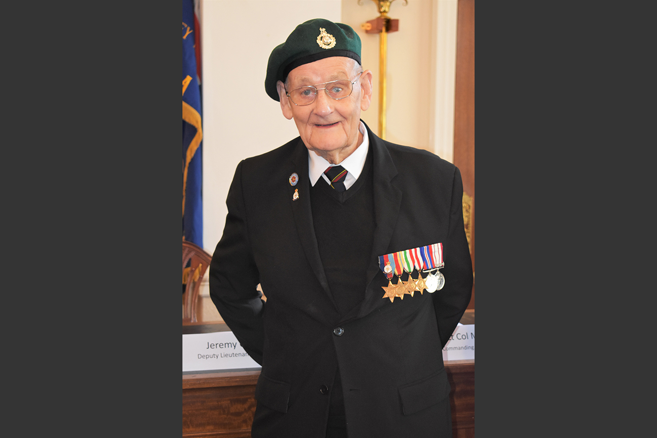 France honours the last of Chorley's Normandy heroes
