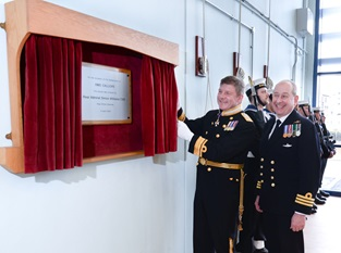 Naval Reserve unit re-opens on Gateshead Quayside