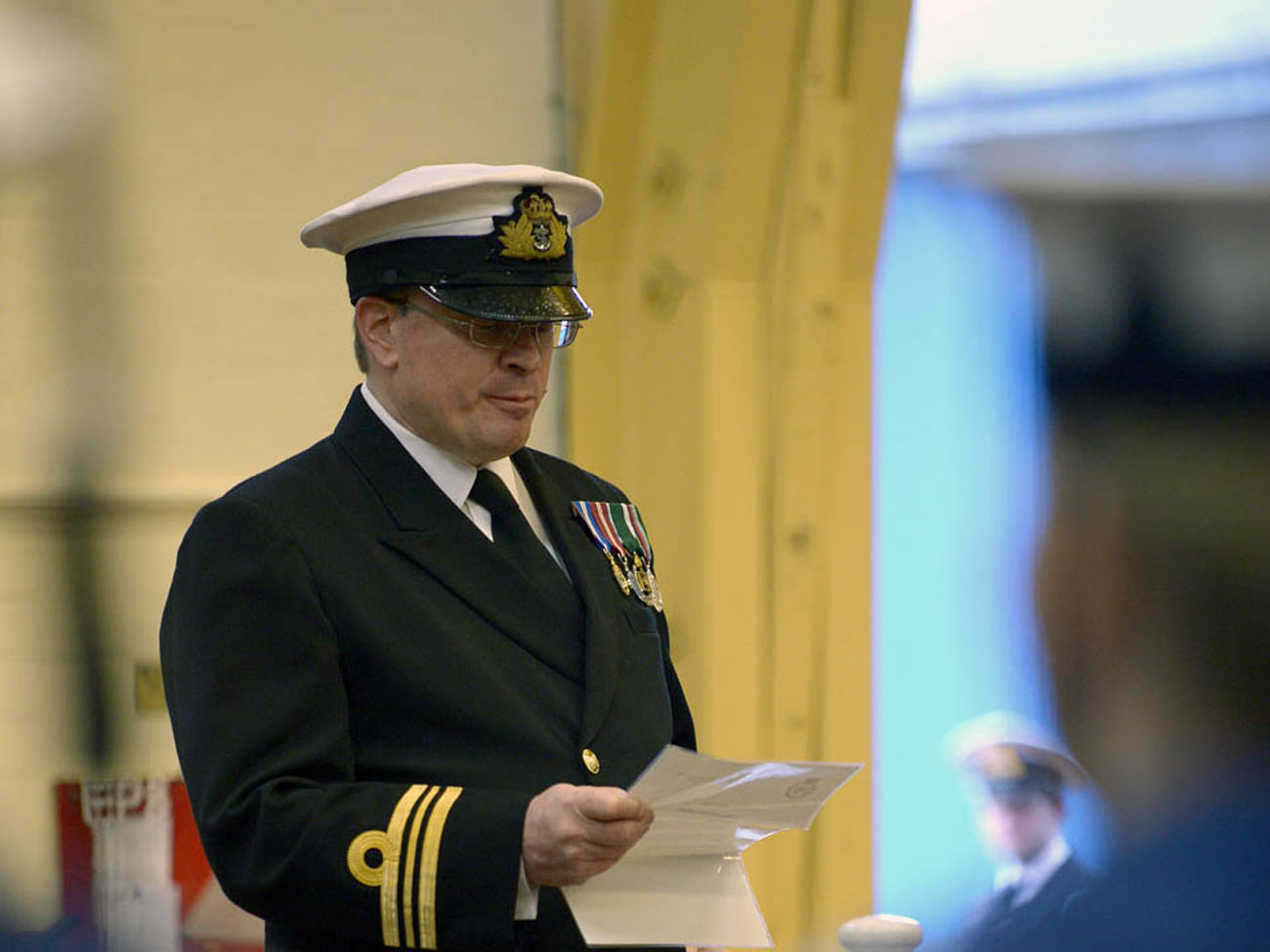 Princess Royal formally opens Royal Naval Reserve new unit