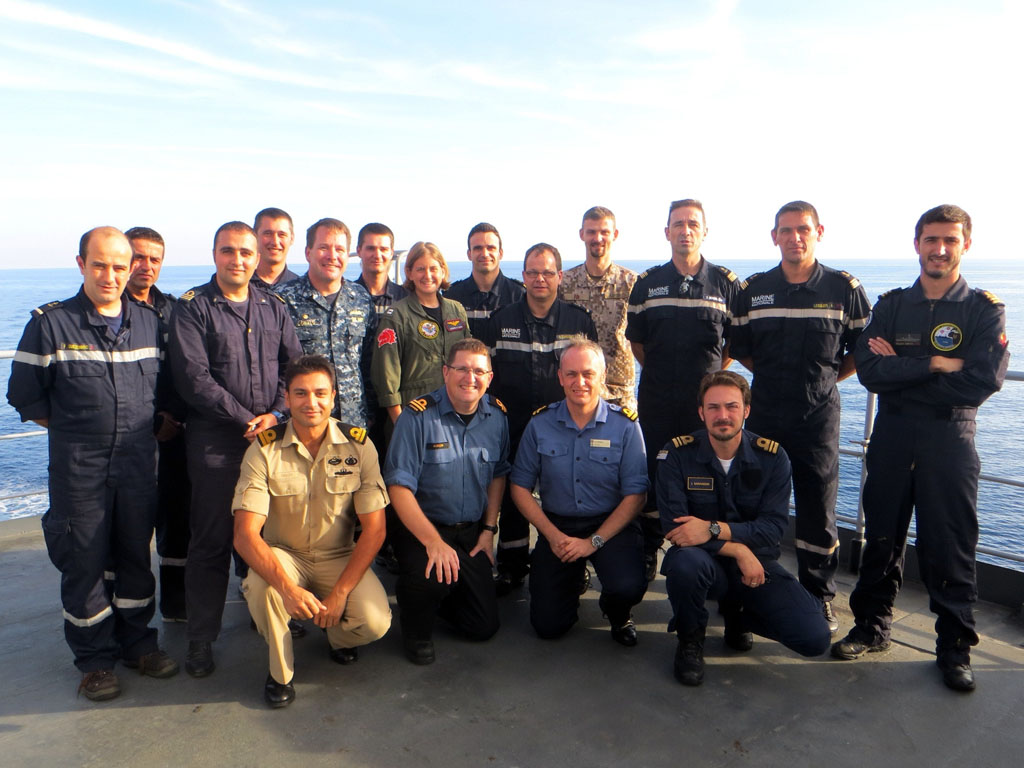 Royal Naval Reservists At The Heart Of International Exercises