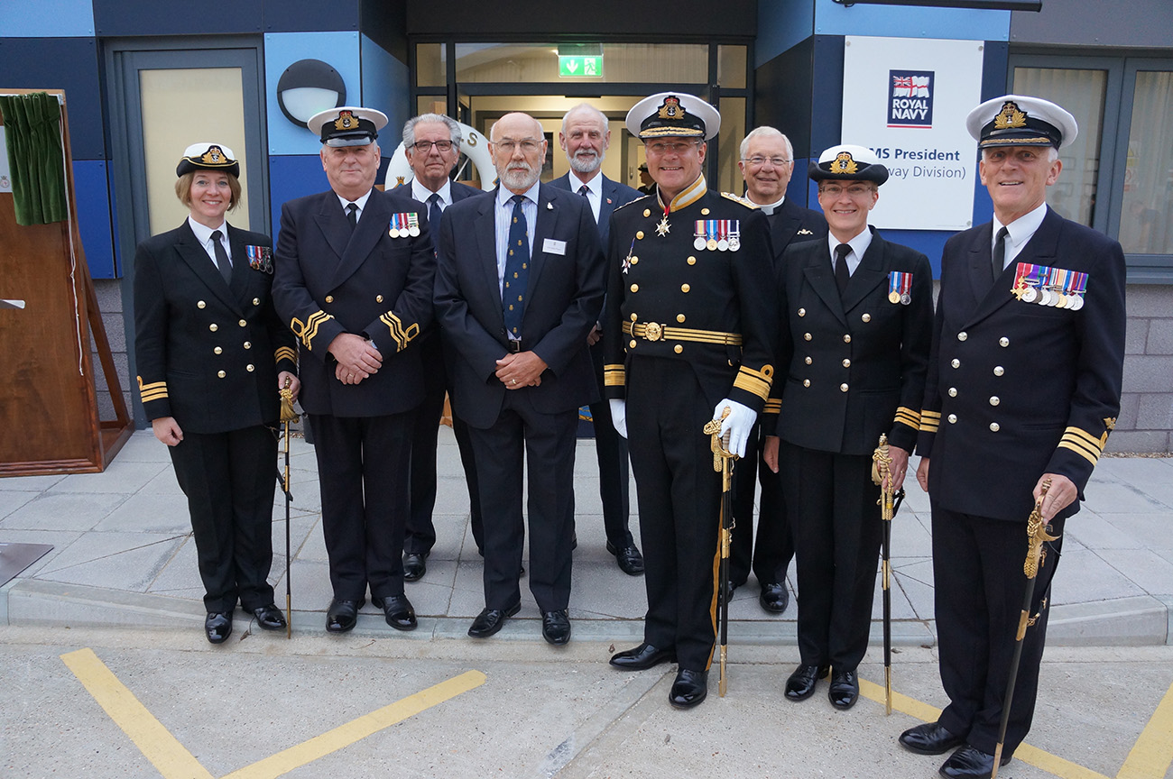 Royal Naval Reserve opens in Rochester