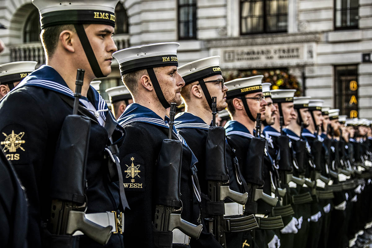 The Royal Navy and Royal Marines - both regular and reserves - have led from the front in this year's Lord Mayor of London's Show.