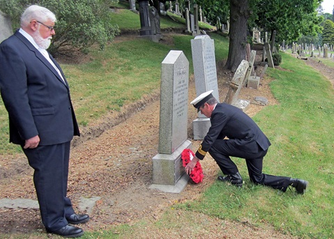 Dundee reservists remember Great War sailor-soldier