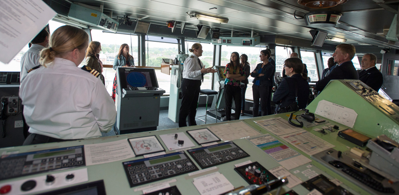 RFA Argus hosts Livery Day in London