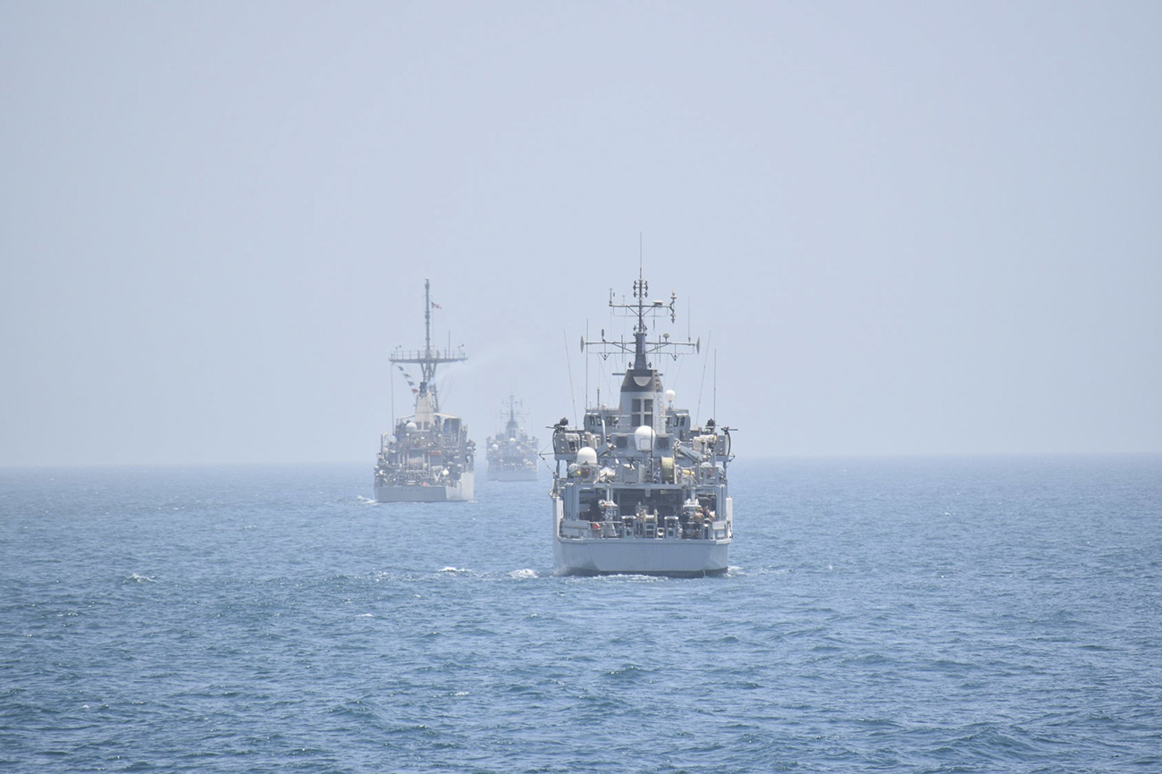Anglo-American mine warfare 'jigsaw' ensures Allies are ready in Gulf