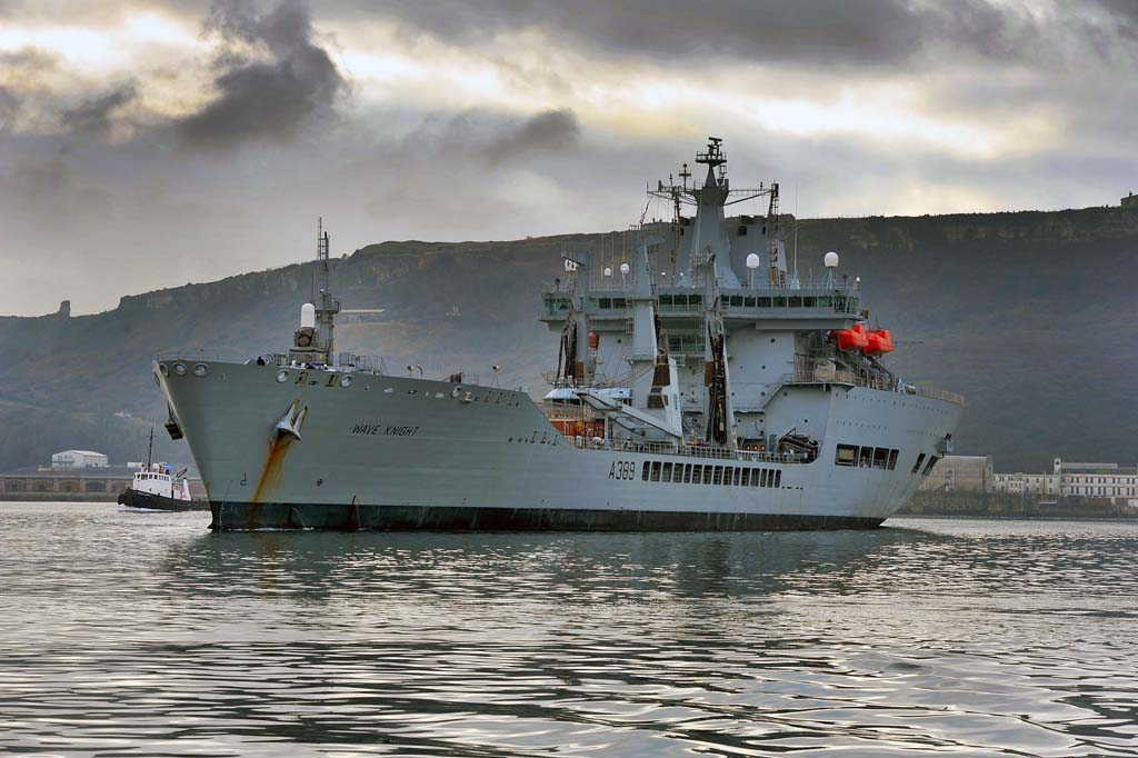 RFA Wave Knight To Visit Martinique