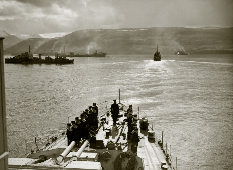NATO warships remember worst Arctic convoy of WW2 with commemorations in Iceland